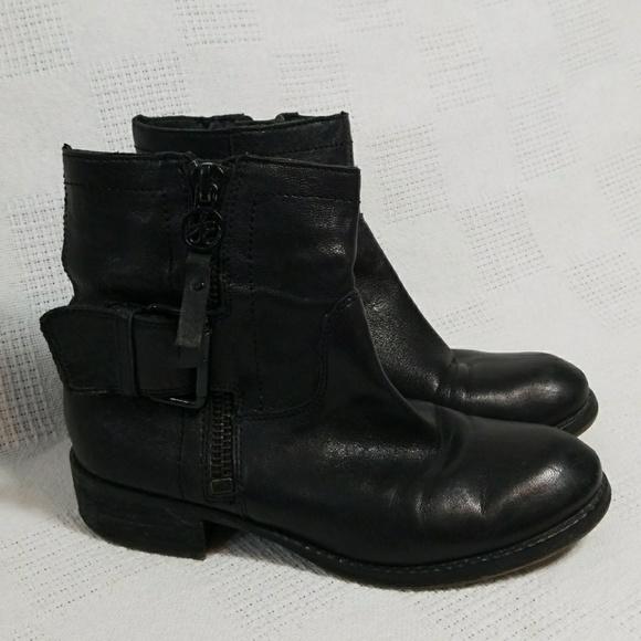 44253836706f9 Sam Edelman Kacey Black Leather Boots 7. M 5a8c09bf2c705de82dc353c6